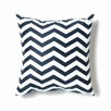 Twinkle Living ZigZag Pillow in Navy