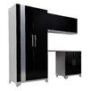 NewAge Products Performance Plus Series 7' H x 8' W x 2' D 5 Piece Cabinet Set