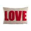 "Alexandra Ferguson ""Love"" Throw Pillow"