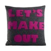Alexandra Ferguson Let's Make Out Throw Pillow
