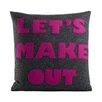 Alexandra Ferguson Let's Make Out Throw Pillow