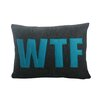 Alexandra Ferguson WTF Decorative Lumbar Pillow