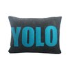 Alexandra Ferguson YOLO Decorative Lumbar Pillow