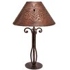 """Jezebel Gallery Tribal 16"""" H Table Lamp with Empire Shade"""