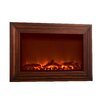 <strong>Wood Wall Mounted Electric Fireplace</strong> by Fire Sense