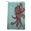DENY Designs Valentina Ramos Octopus Bloom Shower Curtain
