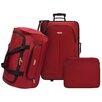 Traveler's Choice Ultra Lightweight 3 Piece Rolling Luggage Set