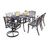 Home Styles Biscayne 7 Piece Dining Set