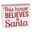 DEI Glitter Holiday Sayings Box Sign