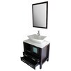 "Kokols 30"" Single Bathroom Vanity Set with Mirror"