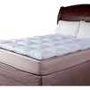 Blue Ridge Home Fashions 210 Thread Count Cotton Cover Featherbed Topper