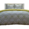 City Scene Milan Comforter Set in Yellow