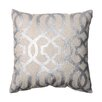 Pillow Perfect Geometric Polyester Throw Pillow