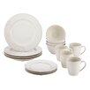 BonJour Paisley Vine 16 Piece Dinnerware Set
