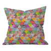 DENY Designs Bianca Green Lost in Pyramid Throw Pillow