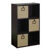 """Furinno Econ Organizer 35.1"""" Bookcase"""