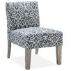 DHI Palomar Slipper Chair in Blue