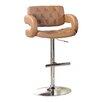 Hokku Designs Lesticia Adjustable Height Swivel Bar Stool