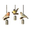 <strong>October Hill</strong> Perched Bird Garden Bell (Set of 3)