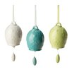 <strong>October Hill</strong> Ceramic Flower Bell (Set of 3)