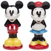 <strong>Zak!</strong> Mickey and Minnie Ceramic Salt and Pepper