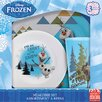 Zak! Frozen Olaf 3 Piece Dinnerware Set