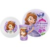 Zak! Sofia the First 3 Piece Dinnerware Set