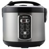 Aroma 20-Cup Stainless Steel Rice Cooker