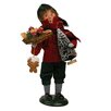 Byers' Choice Boy with Gingerbread Figurine