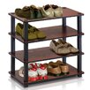 Furinno Turn-S-Tube 4 Tier Shoe Rack