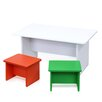 Furinno Nino Kids 3 Piece Table and Chair Set