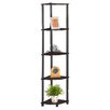 Furinno 5 Tier Corner Display Shelf