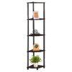 Furinno 5 Tier Corner Rack Display Shelf