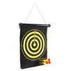 <strong>Trademark Global</strong> Magnetic Roll-up Dart Board and Bullseye Game with Darts (Set of 2)
