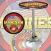 <strong>United States Marine Corps Pub Table</strong> by Trademark Global