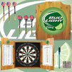 Trademark Global Bud Light Dart Cabinet in Lime