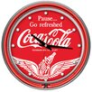 "<strong>Trademark Global</strong> Coca Cola 14"" Wall Clock"