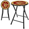 "<strong>Trademark Global</strong> 18"" Anheuser Busch A and Eagle Folding Bar Stool with Cushion"