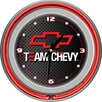 "<strong>Trademark Global</strong> 14"" Team Chevy Racing Wall Clock"