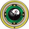 """<strong>Trademark Global</strong> 14"""" Rack'em 8 Ball Wall Clock"""