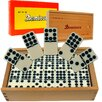 <strong>Trademark Global</strong> Premium Double Nine Dominoes with Wood Case (Set of 55)