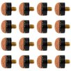 <strong>Replacement Tips for Hardwood Pool Stick Cues</strong> by Trademark Global