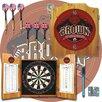 Trademark Global NCAA Dart Cabinet in Medium Wood