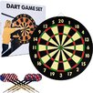 <strong>TGT Dart Game Set with 6 Darts and Board</strong> by Trademark Global