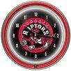 "Trademark Global 14.5"" NBA Double Ring Neon Wall Clock"