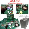 Trademark Global 370 Piece All In- The 4 Casino Game Super Set