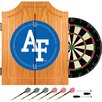 Trademark Global Air Force FalconsT Wood Dart Cabinet Set
