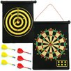 <strong>Trademark Global</strong> Magnetic Roll-up Dart Board and Bullseye Game with Darts