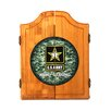 Trademark Global U.S. Army Digital Camo Wood Dart Cabinet Set