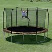 Skywalker Trampolines Camo 15' Round Trampoline and Enclosure